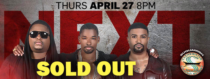 NEXT Sold Out Clearwater Casino Resort